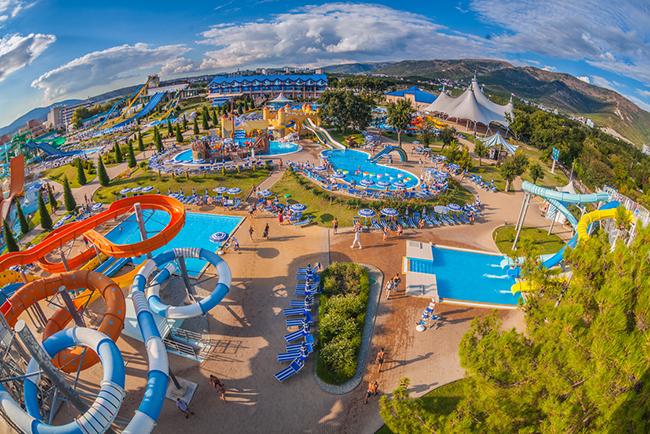 картинки аквапарк золотая бухта